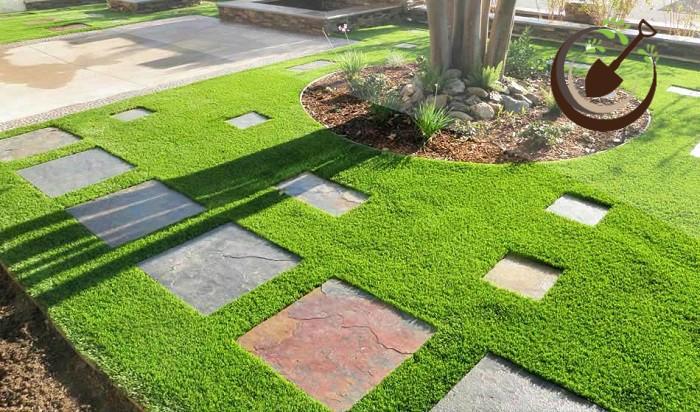 ứng dụng cỏ nhân tạo sân vườn cho công viên