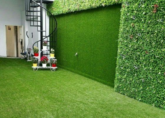 Phủ xanh nhà bằng cỏ nhân tạo tại Gia Lai