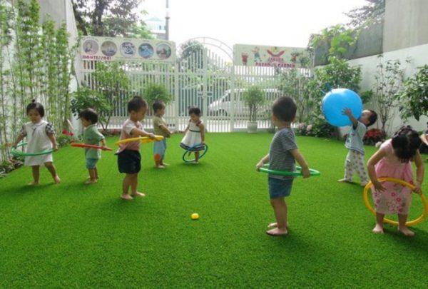 Cỏ nhân tạo tại Ninh Thuận cho sân chơi trẻ em