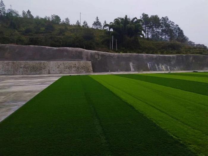 Đơn vị thi công dày kinh nghiệm về cỏ nhân tạo tại Lâm Đồng