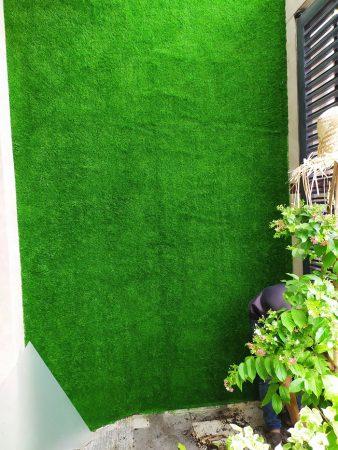 Thi công cỏ cho nhà ở của người dân tại Tp.HCM